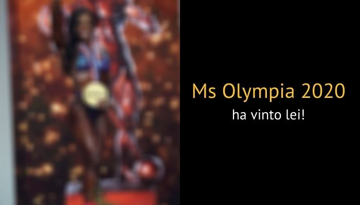 Andrea Shaw Ms Olympia 2020 vincitrice